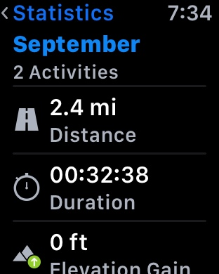 Once I finish my run, all the data on my Apple Watch syncs with Runtastic  Pro on my iPhone. This is probably the best part as I can see a history of  ...