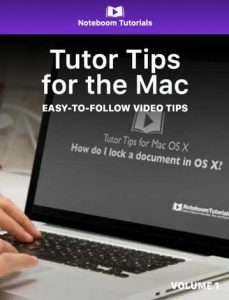 Tutor Tips for the Mac