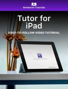 Tutor for iPad iBook