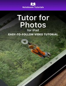 Tutor for Photos for iPad iBook