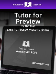 Tutor for Preview iBook