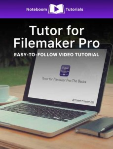 Tutor for Filemaker Pro iBook