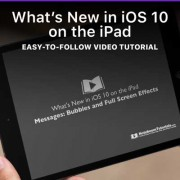 What's New in iOS 10 on the iPad