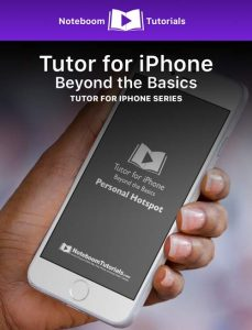 Tutor for iPad: The Basics iBook