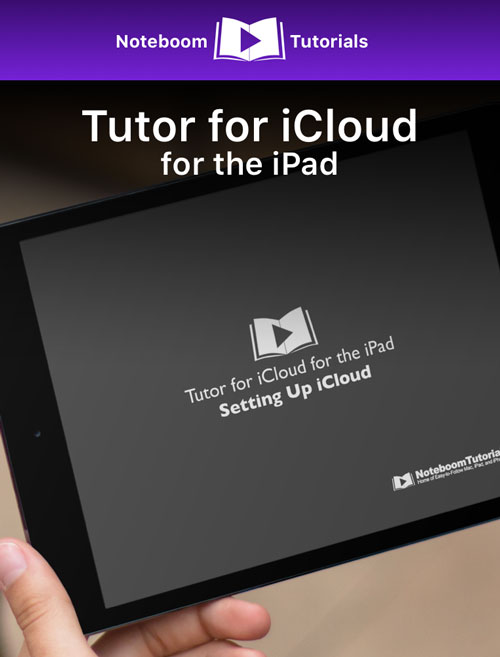 Tutor for iCloud for iPad iBook