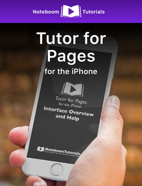 Tutor for Pages-iPhone