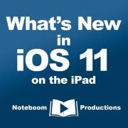 What's New in iOS 11 on the iPad