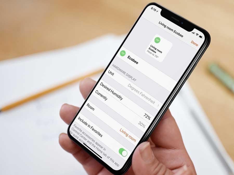 Ecobee iphone