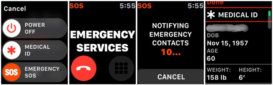 Emergency SOS Apple Watch
