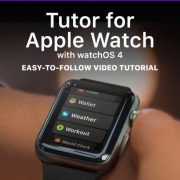 Tutor for Apple Watch iBook