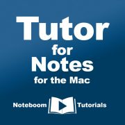 Tutor for Notes for the Mac