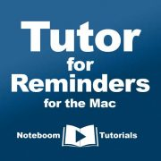 Tutor ro Reminders for the Mac