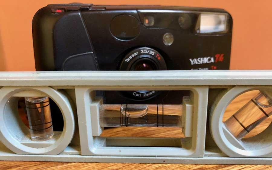 Camera level photo
