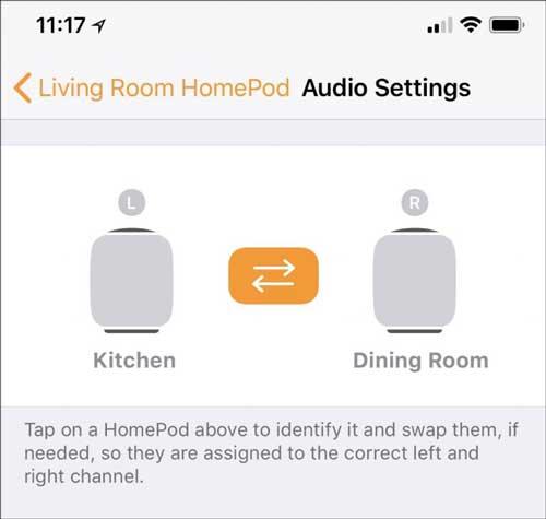 HomePod pairing