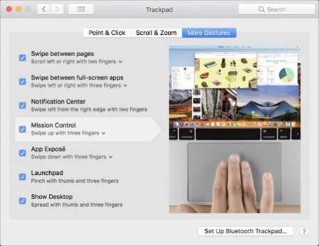 Trackpad Tricks new preferences