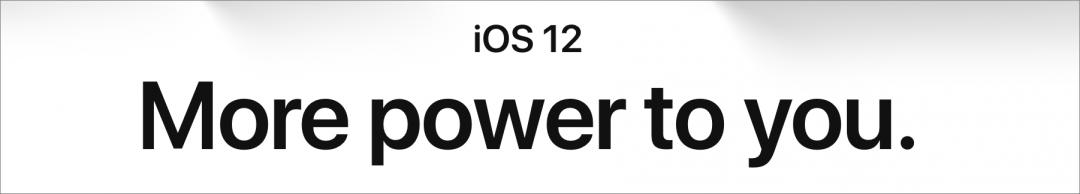IOS 12 splash 1080x194