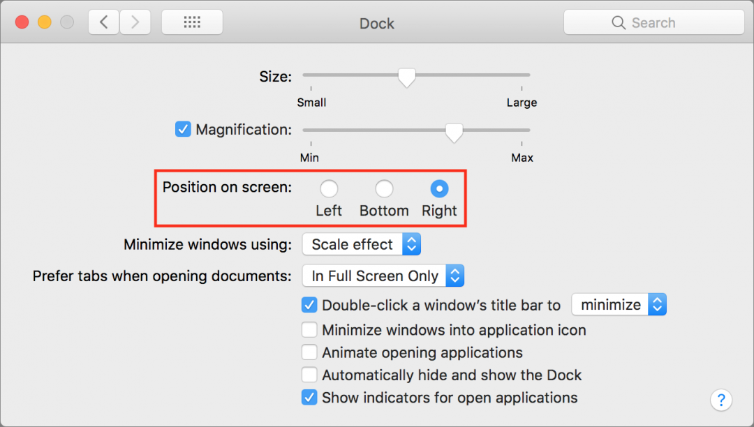 Dock preferences 1080x612