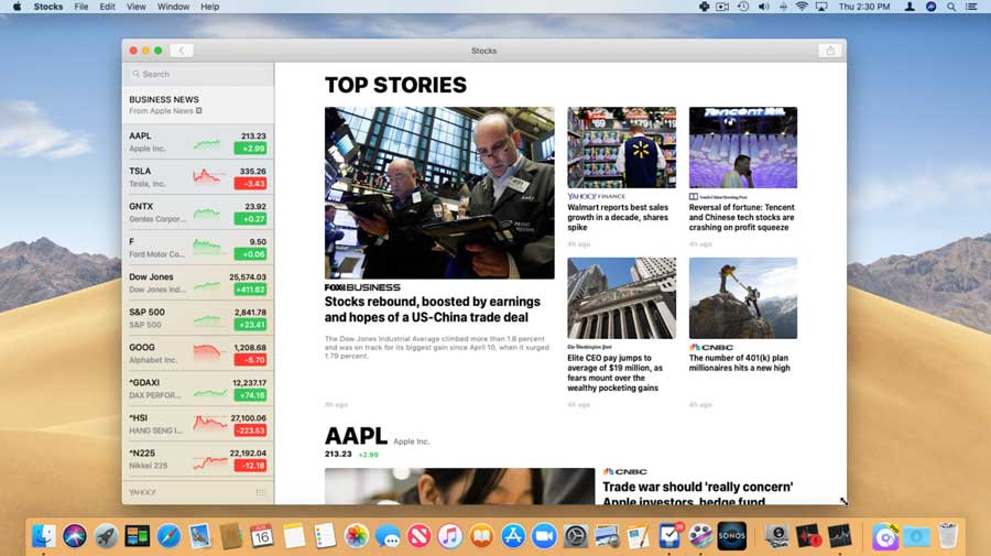 Tutor Stocks Mac