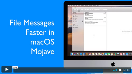 File Messages Faster in Mail in Mojave - Noteboom Tutorials