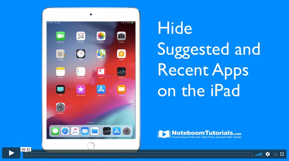 ipad-hide-recent-apps