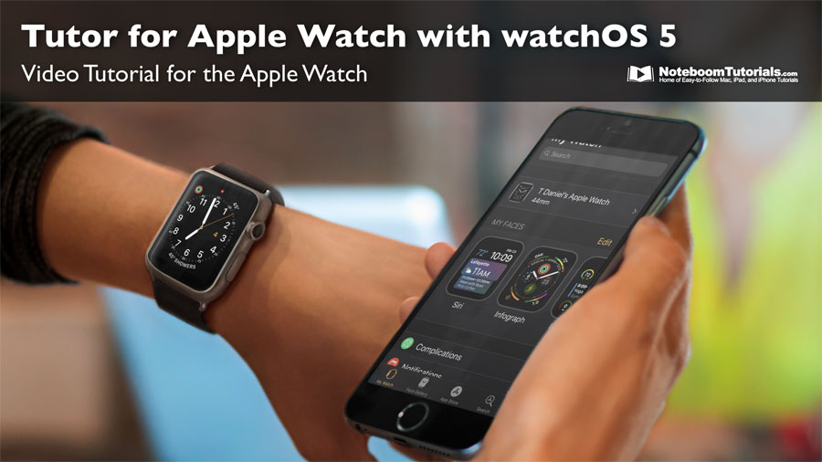Learn about the Apple Watch with watchOS 5.
