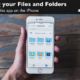 Learn how to browse your folders in the Files app on the iPhone.