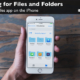 Learn how to search your files and folders in the Files app on the iPhone.